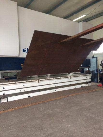 Gięcie Aluminium, Gięcie CNC