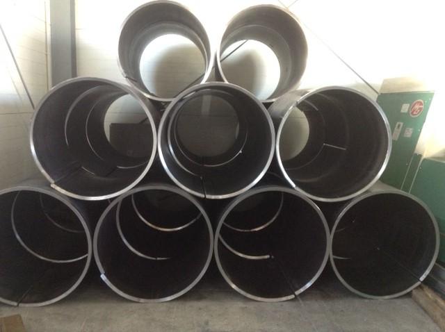 Metalowe rury - walcowanie blachy