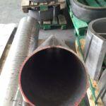 Walcowanie blach - walcowanie stożka z grubej blachy