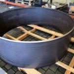 Walcowanie Blach Grubych, Okrągły element konstrukcji, Walcowanie Blachy