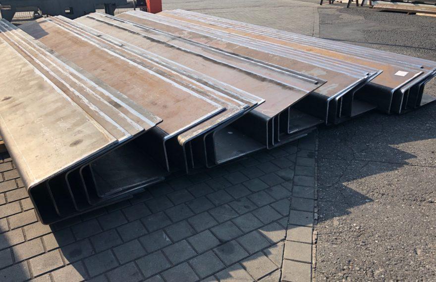 Gięcie Aluminium, Gięcie na prasach krawędziowych - obróbka plastyczna stali