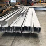 Gięcie i walcowanie aluminium - aluminiowe elementy po obróbce