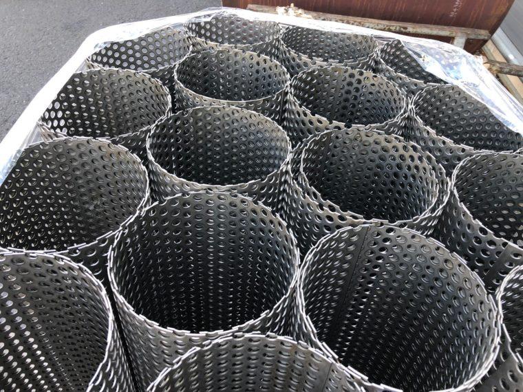 Walcowanie blachy, Walcowanie Aluminium - Wygięte tuleje na zamówienie