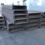 Ogromne elementy stalowe do budowy - gięcie metali, gięcie stali
