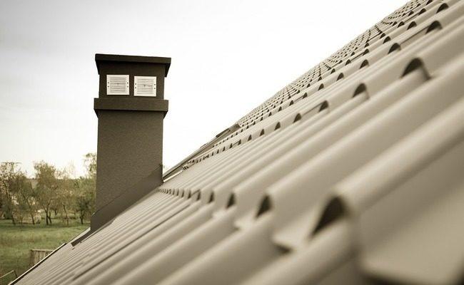 Opierzenie komina - zrealizowane zamówienie na gięcie blach cienkich