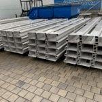Elementy metalowe gotowe do wysyłki - gięcie blach cienkich